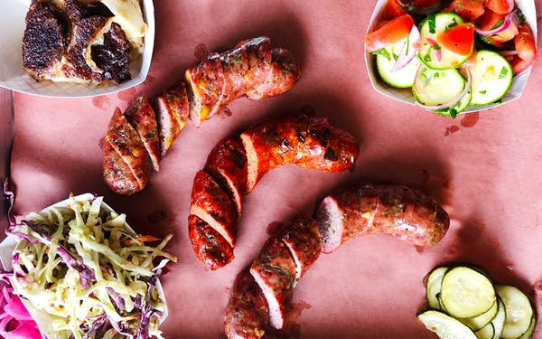 The quality and variety of sausage making at Interstellar BBQ in Cedar Park is impressive.