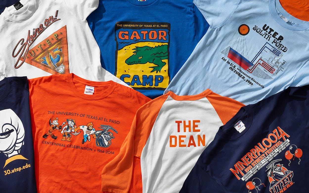 UTEP shirts