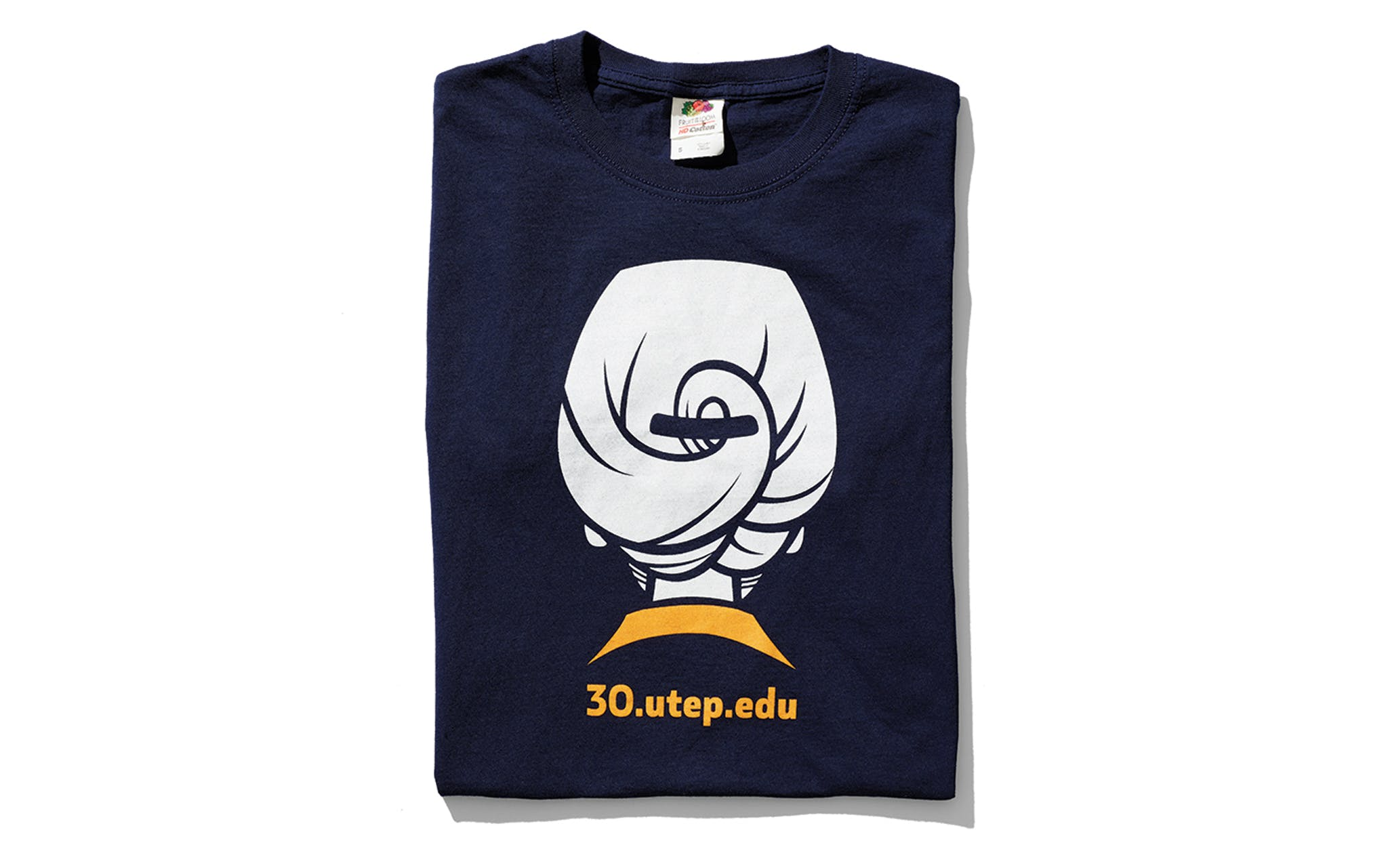 """2018 """"I really like this shirt celebrating my thirty years at UTEP. It's funny, and I like that because I believe that we shouldn't take ourselves too seriously. I try very hard to show students that I am not impressed by my own importance. I'm human and humble, just like them."""""""