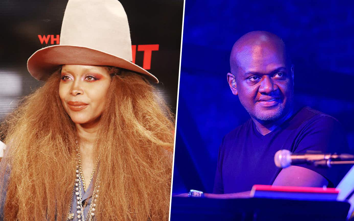 Erykah Badu on February 05, 2019 in Dallas and James Poyser of The Roots on March 18, 2017 in Austin.