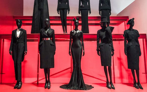 Part of the Dallas Museum of Art's exhibit Dior: From Paris to the World.