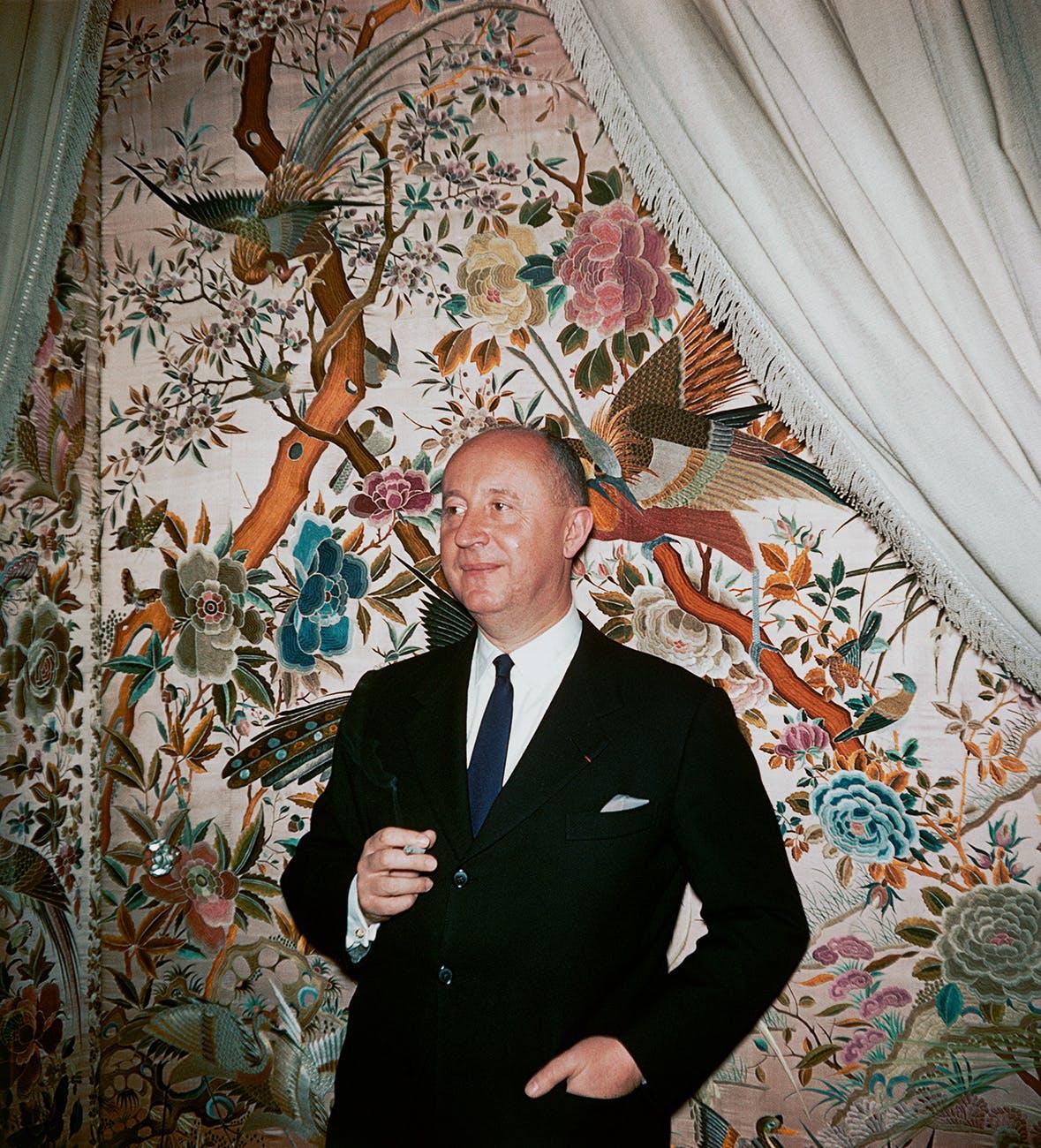 Designer Christian Dior.