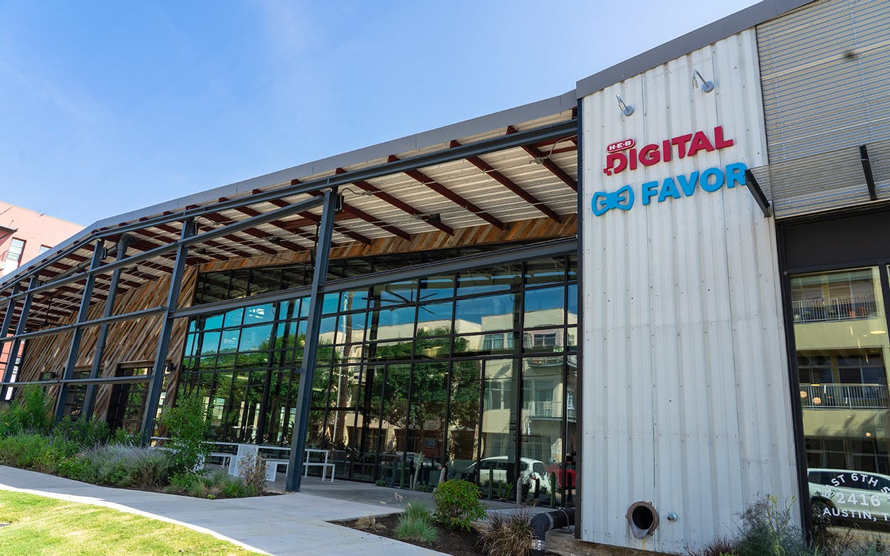 H-E-B and Favor new Austin space