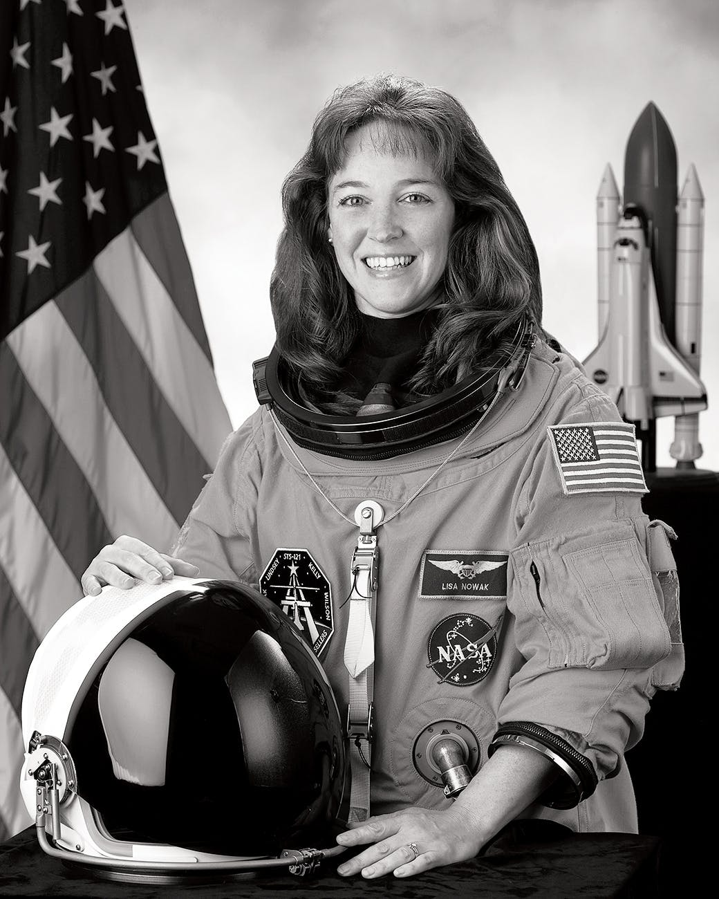 Nowak's official NASA portrait.