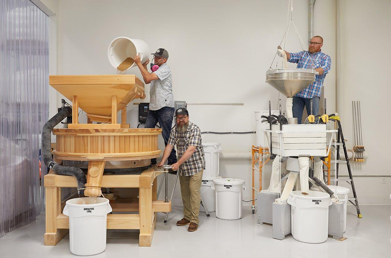 Barton Springs Mills process