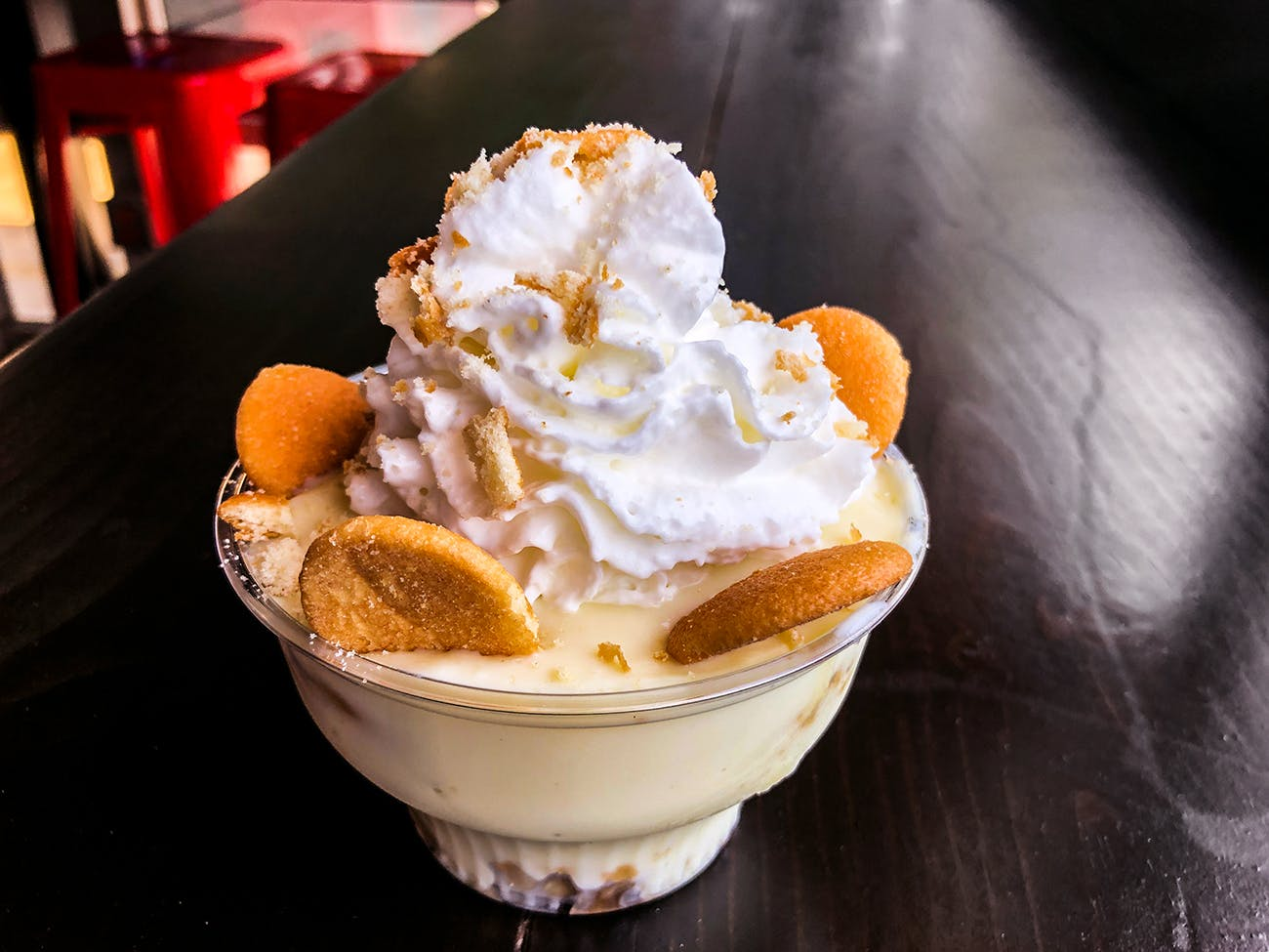 banana pudding Derek Allan's Texas BBQ