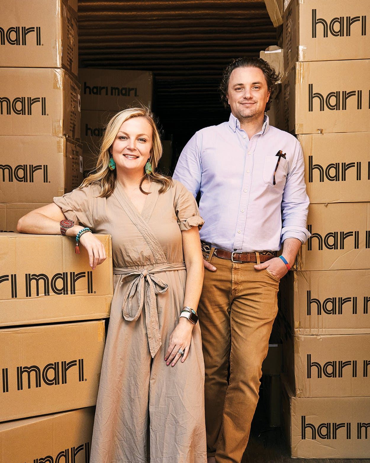 Hari Mari Lila and Jeremy Stewart