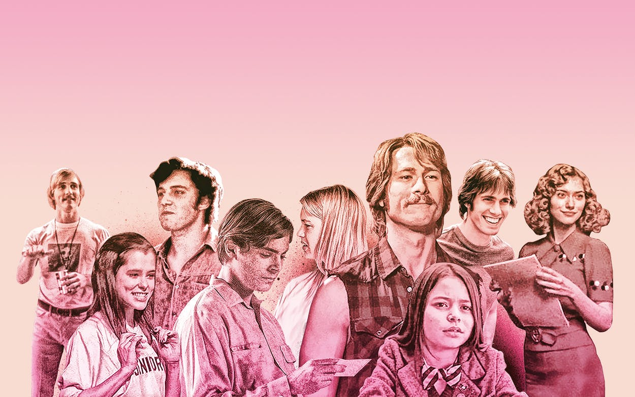 Richard Linklater and actors