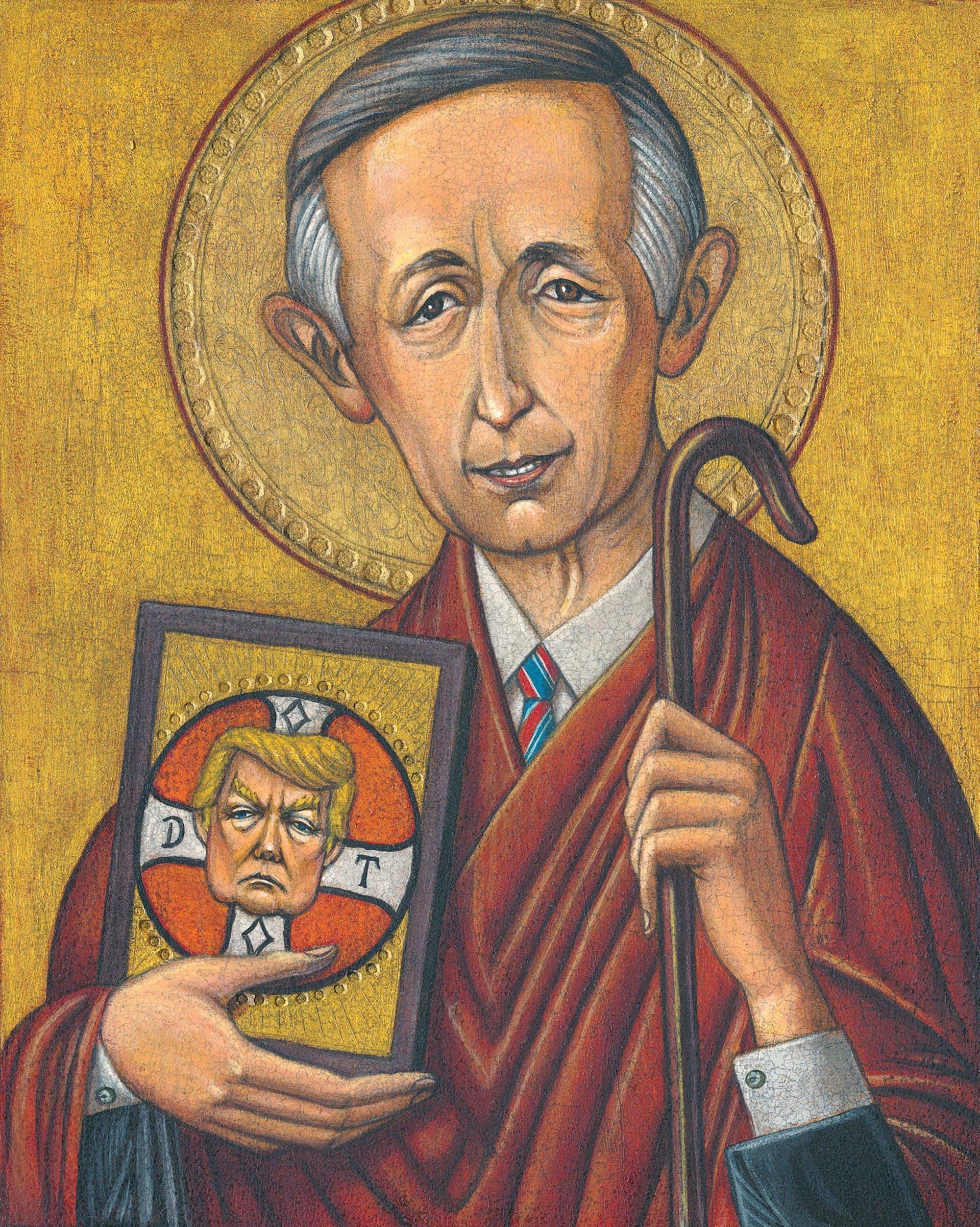 Illustration of Robert Jeffress