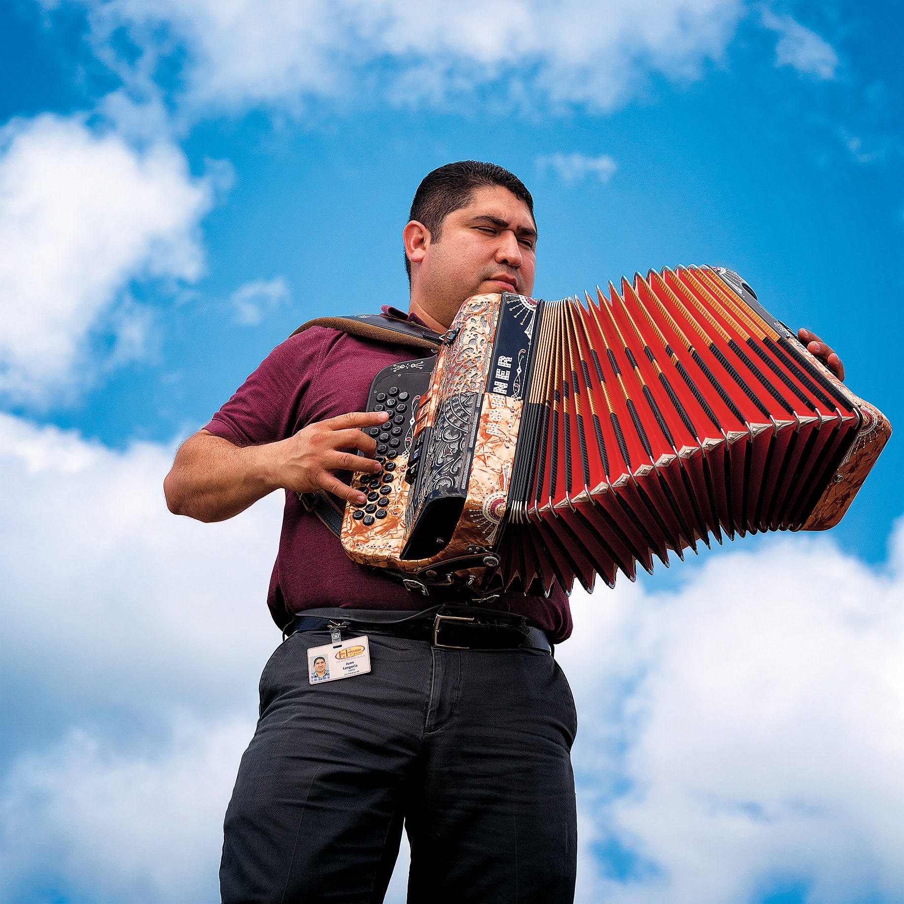 Juan Longoria Jr., is founder of the Los Fresnos High School Conjunto program