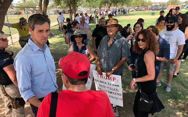 Beto O'Rourke meets with El Paso community