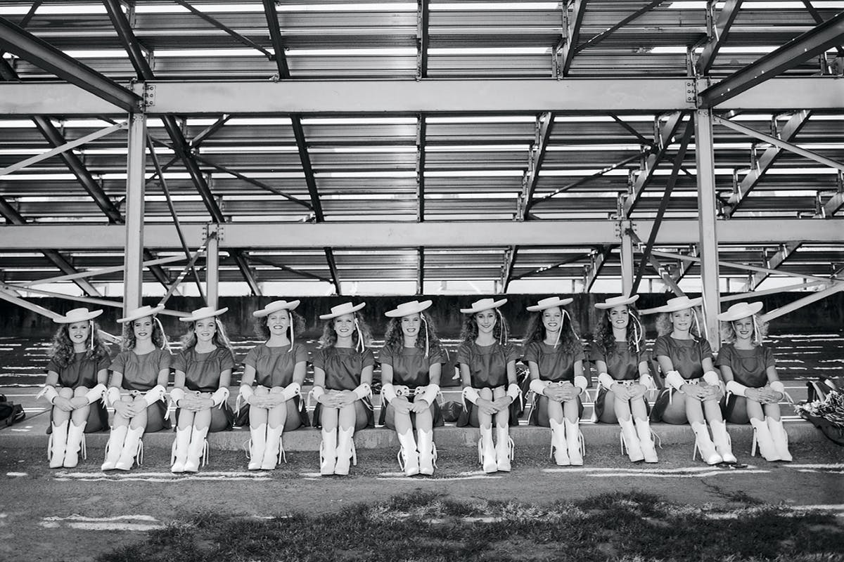 Rangerettes on stand standby