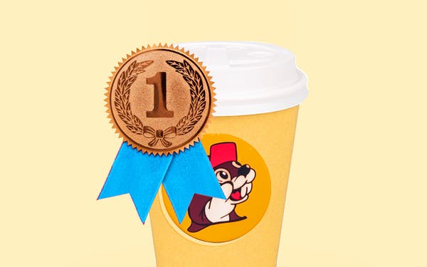 Buc-ee's best gasoline coffee