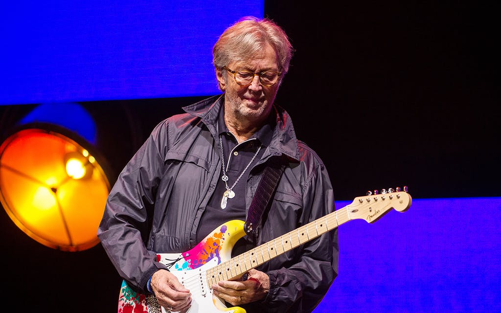 Eric Clapton Makes Dallas the Center of the Guitar Universe Once More