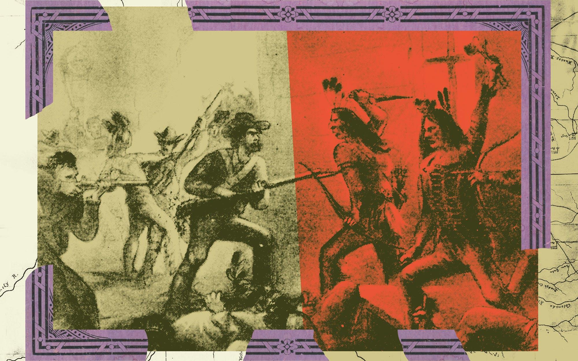 TEXAS HISTORY Illustration