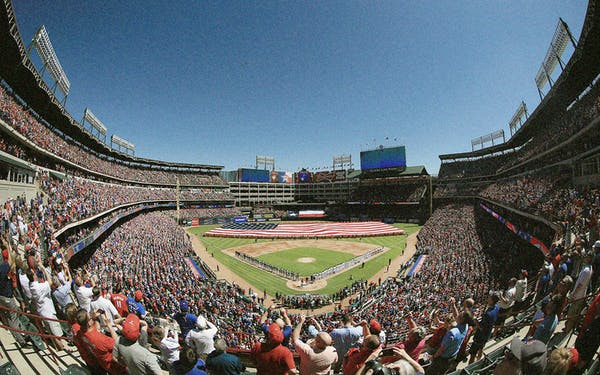 "Goodbye to the Texas Rangers' Roofless Ballpark, a k a  ""the"