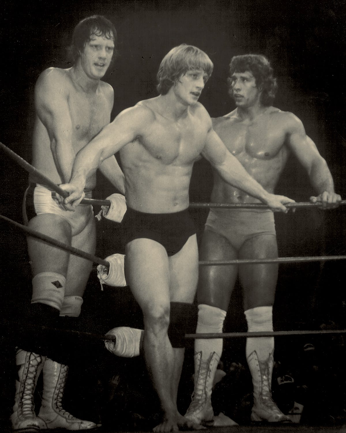 Kings of the Ring: From left, David, Kevin, and Kerry