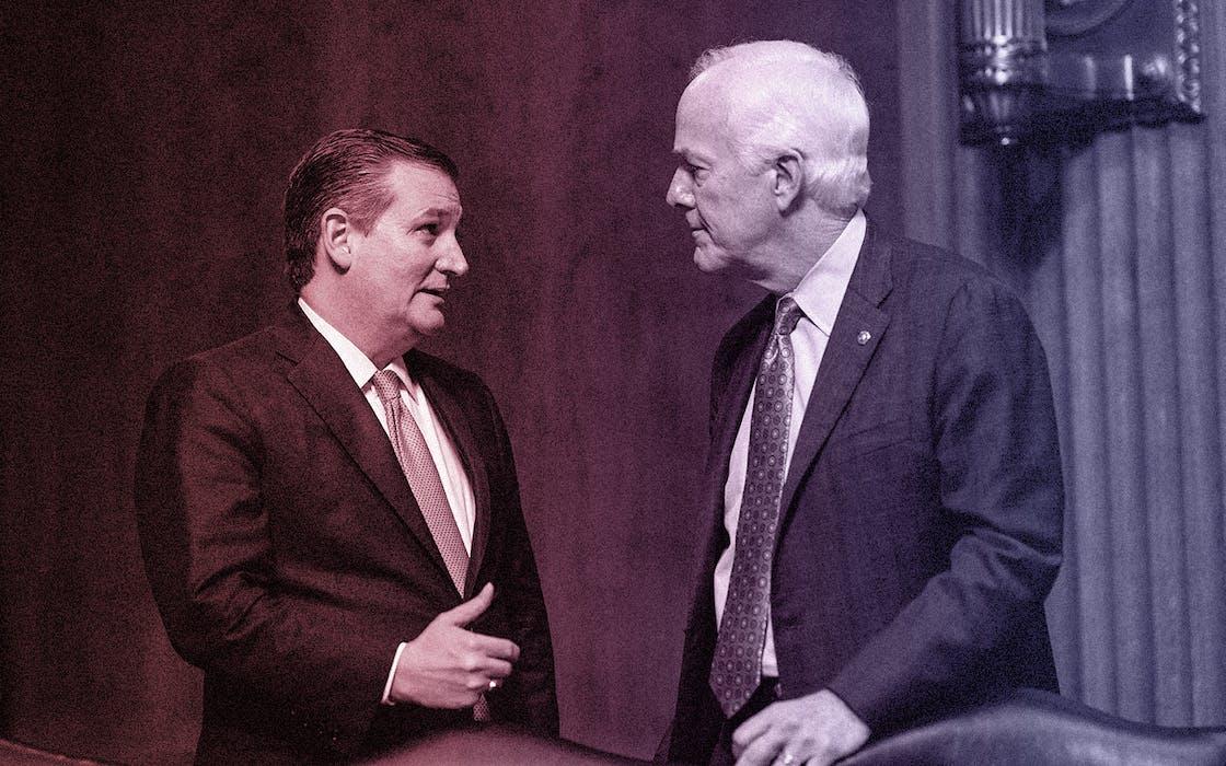 impeachment cruz cornyn trump