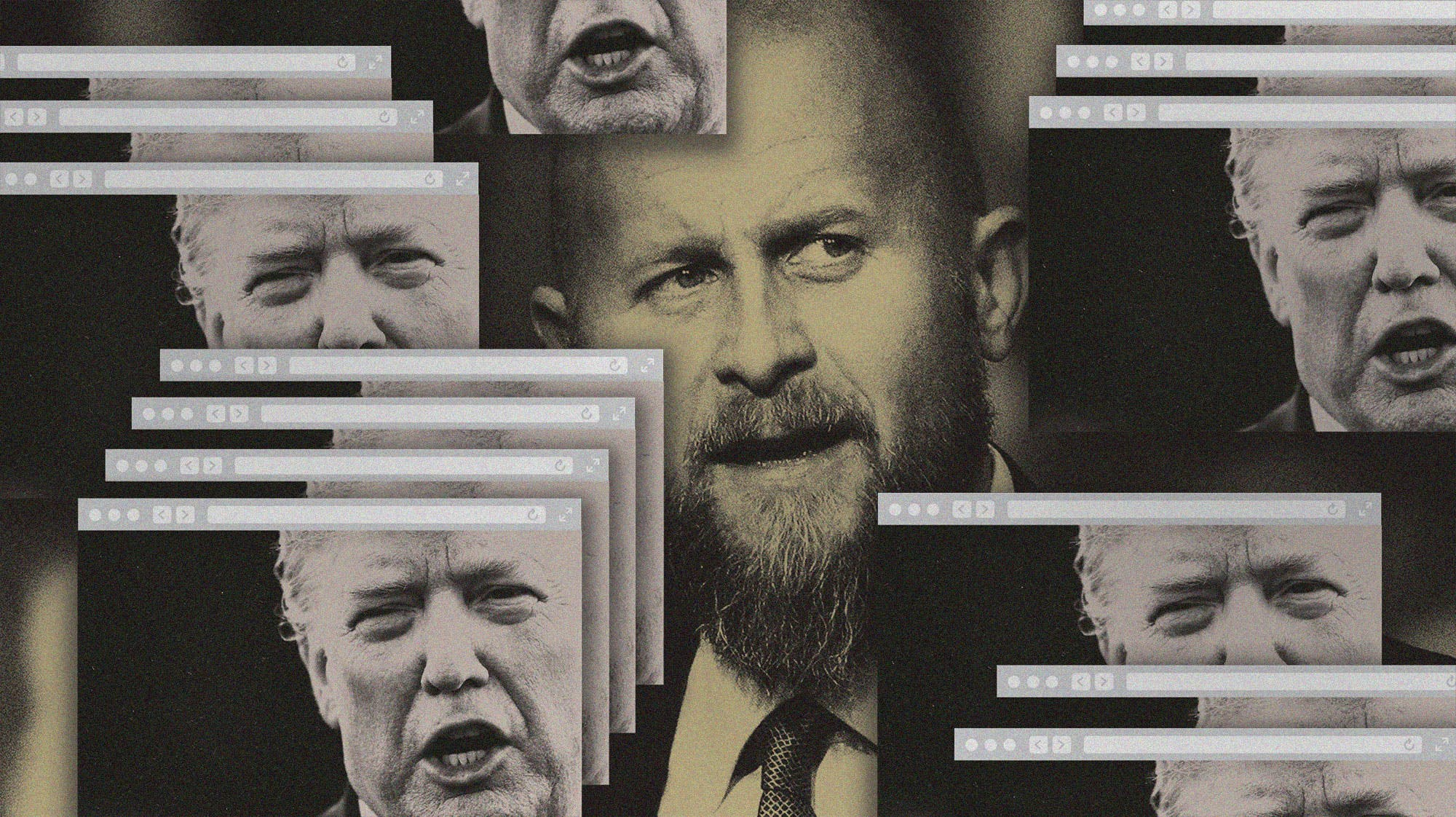 Brad Parscale and Donald Trump