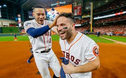 Carlos Correa and José Altuve