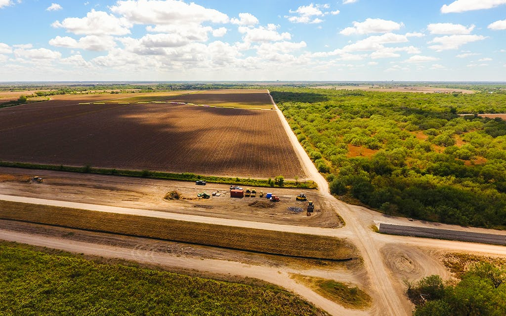 Crews Begin Clear-Cutting South Texas Land to Make Way For Trump's Border Wall