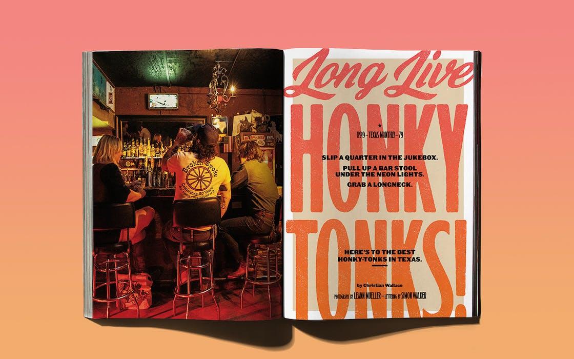 """""""Long Live Honky-Tonks,"""" September 2019."""