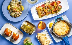 Greek Tapas at Ouzo Bay