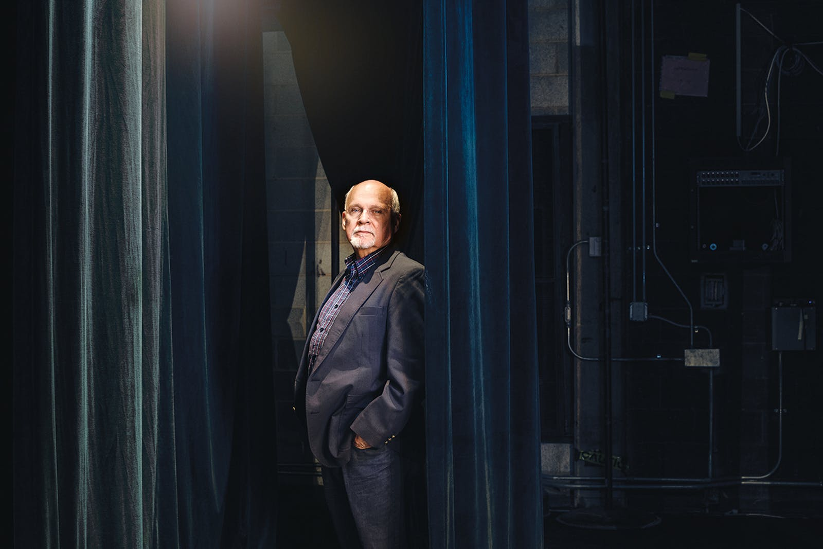 Raymond Caldwell in the Van Cliburn Auditorium, at Kilgore College, on August 27, 2019.