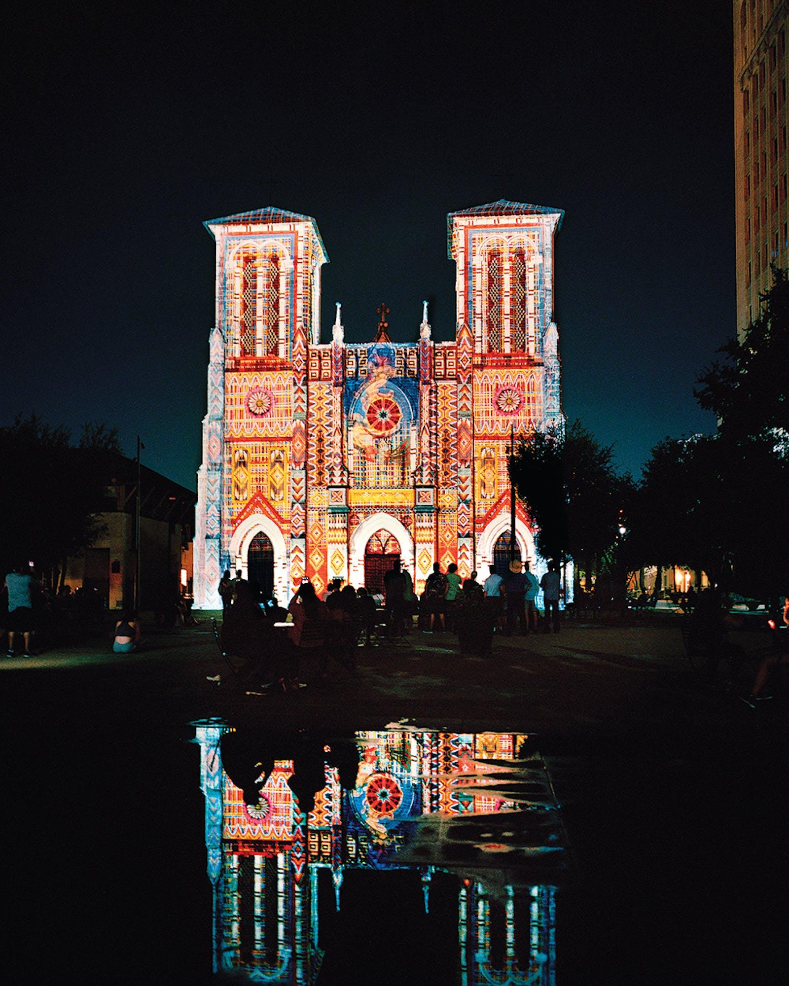san antonio holidays San Fernando Cathedral