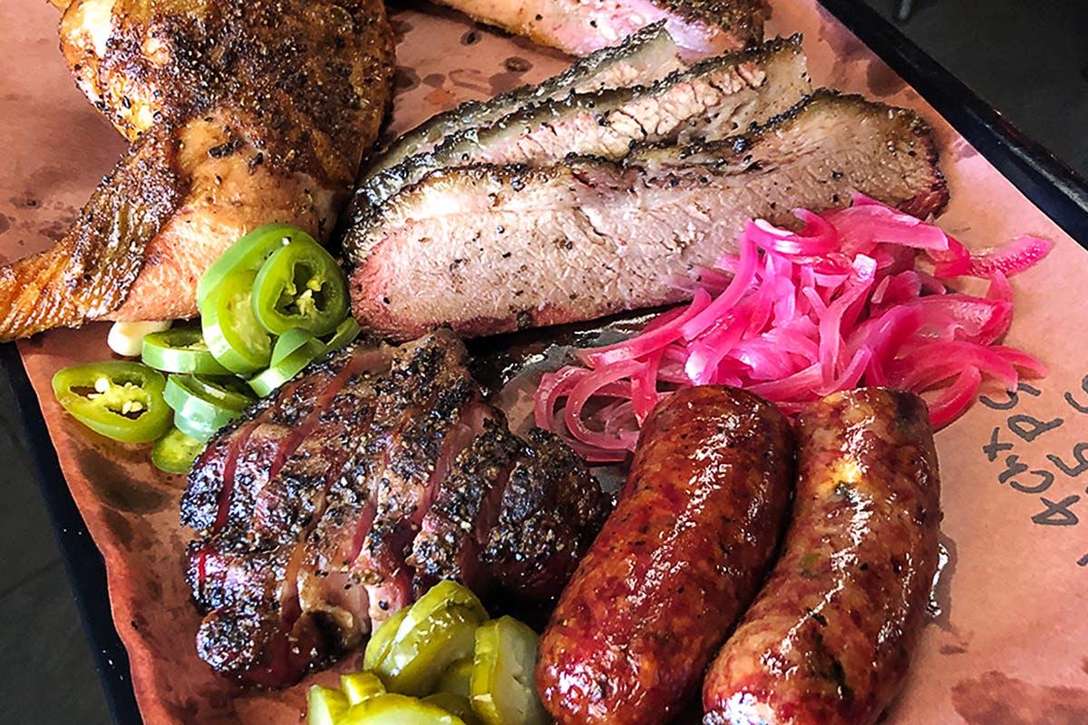 Waco BBQ Food