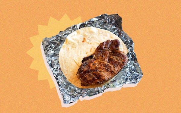 Garcias Mexican Food Pork Chop Taco taco of week
