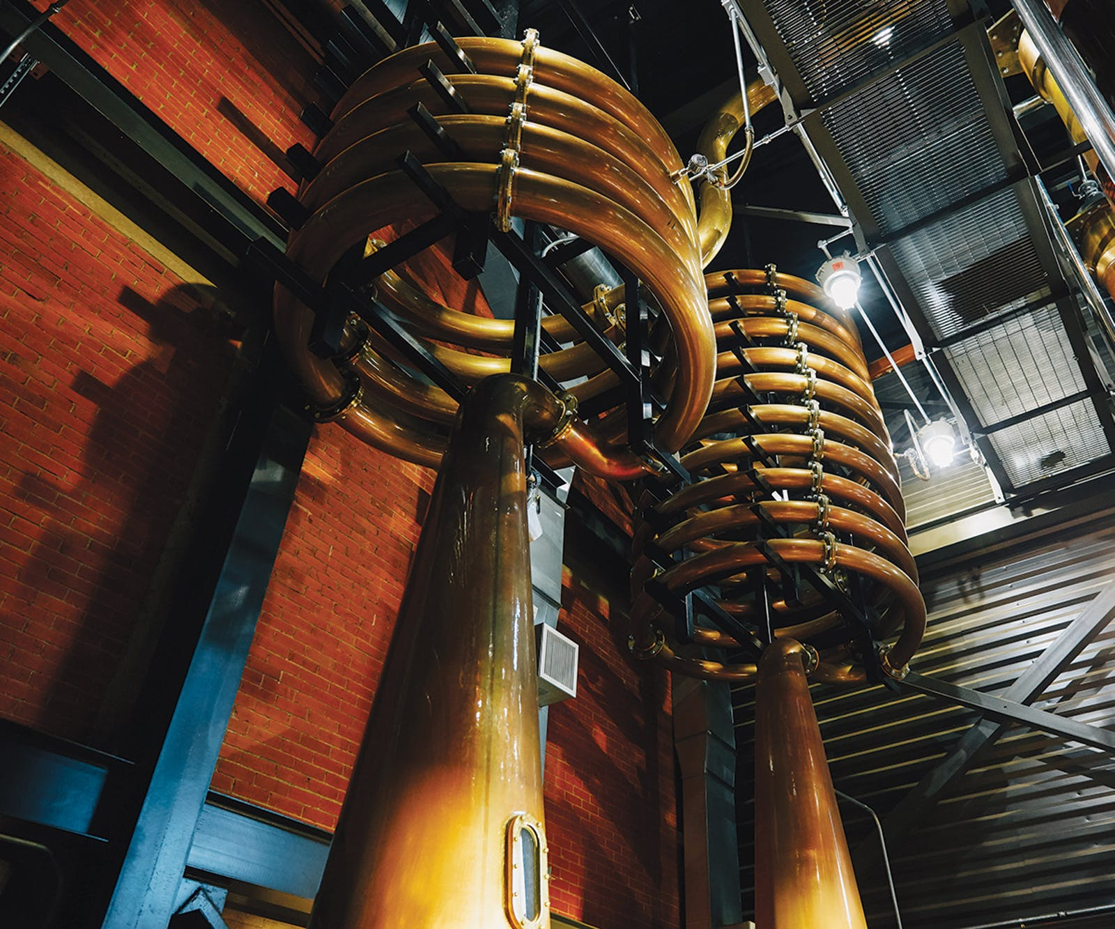 Texas whiskey spirit still at Balcones Distilling