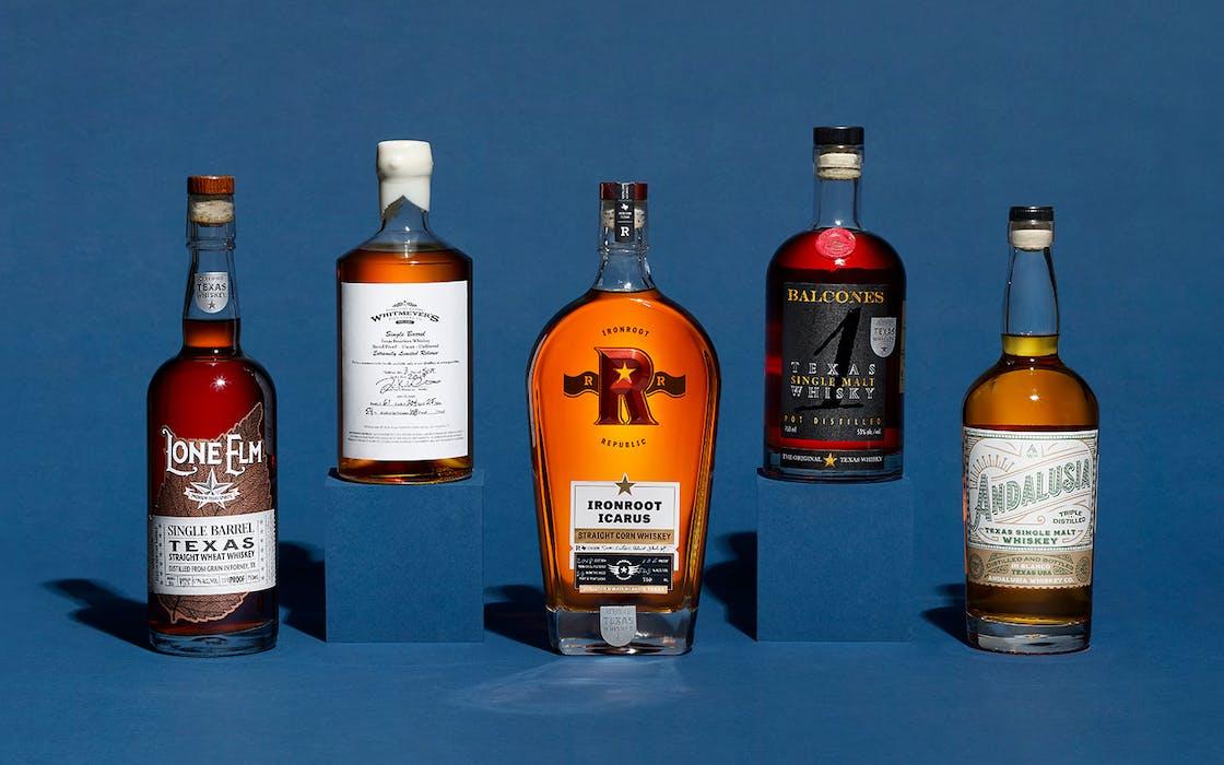 top texas whiskeys