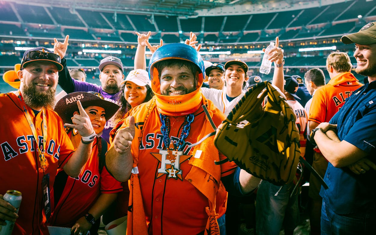 Astros World Series >> The Highs And Lows Of Cheering The Astros From Standing Room
