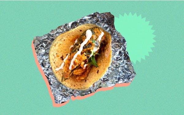 chile relleno at del sur taco