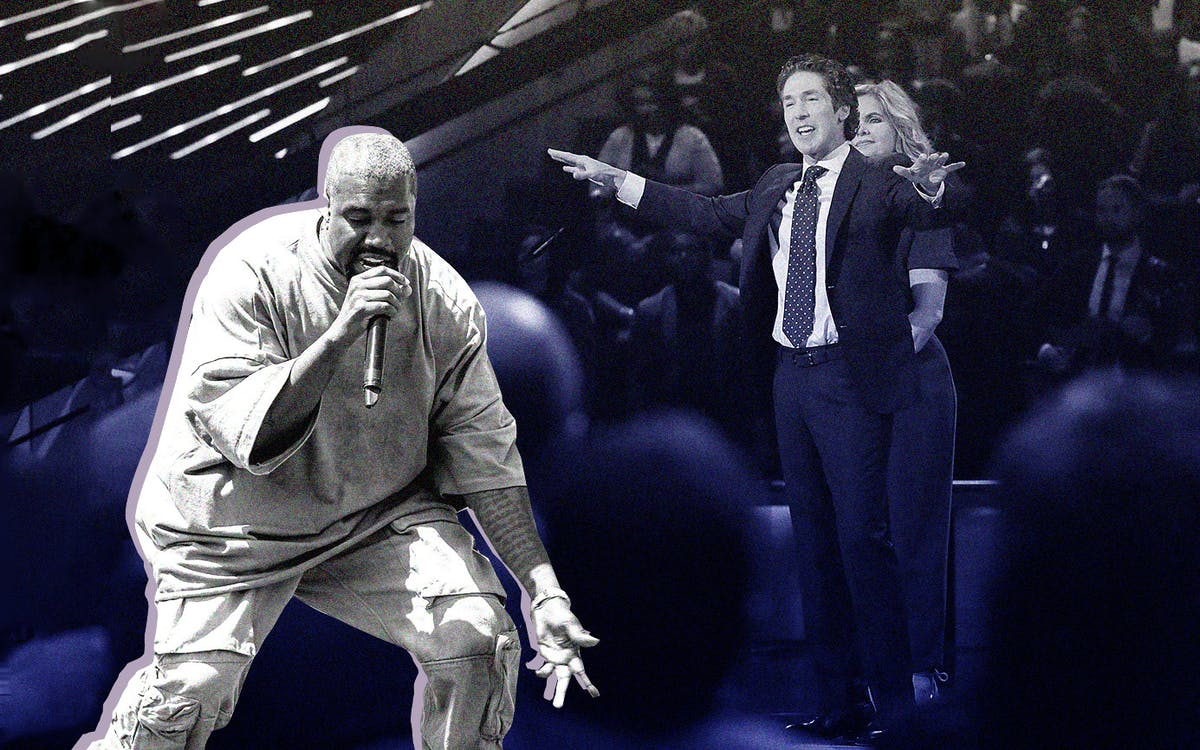 Hollywood, Texas: Kanye West Takes Joel Osteen to Church - Texas Monthly