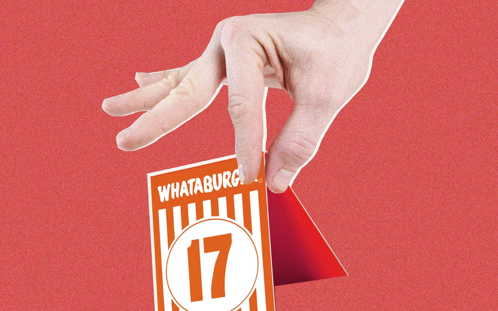 Whataburger Is Aware That Their Table Tents Are Being Sold on the Black Market