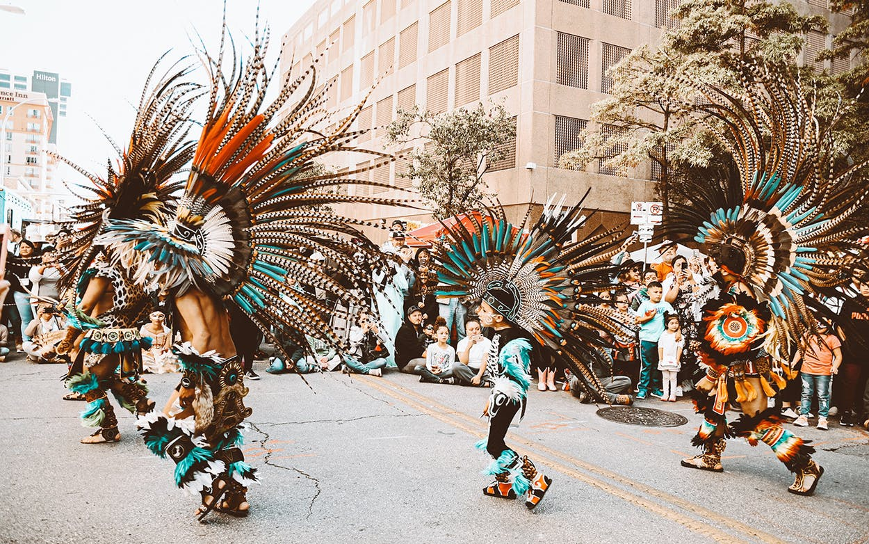 conchera dancers in Austin
