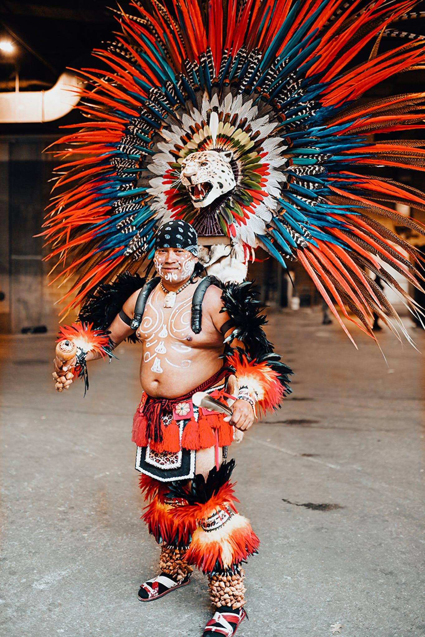 conchera dancers in Austin