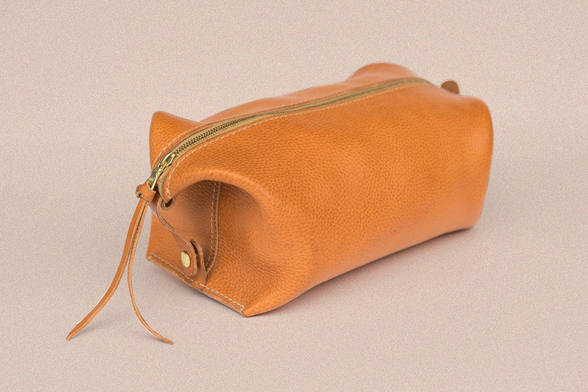 ballad of the bird dog leather bag