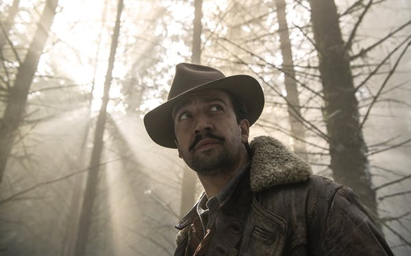 Lin Manuel Miranda in His Dark Materials