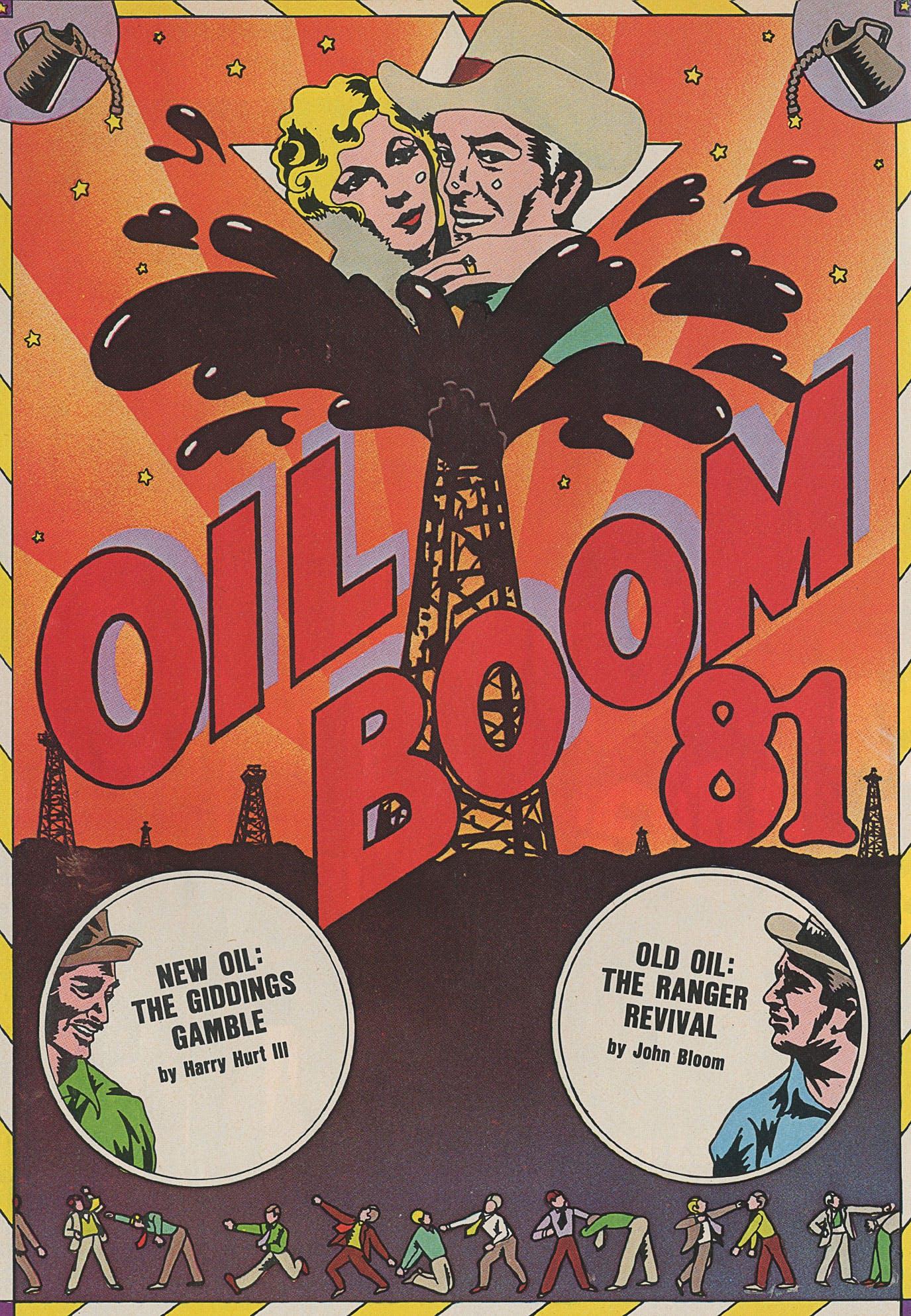 oil boom 81 illustration