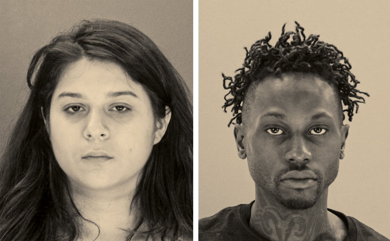 booking photos of Brenda's co-conspirators