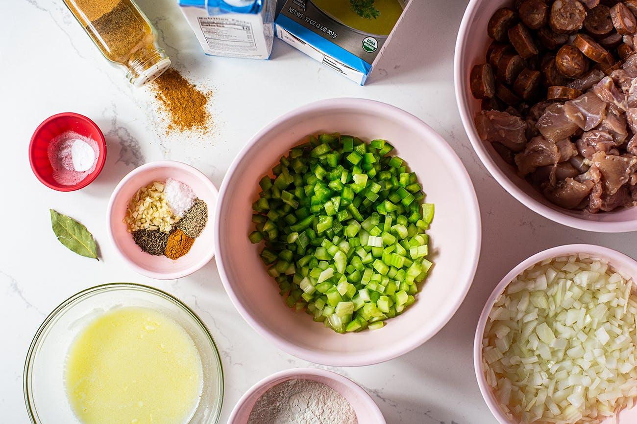 instant pot gumbo