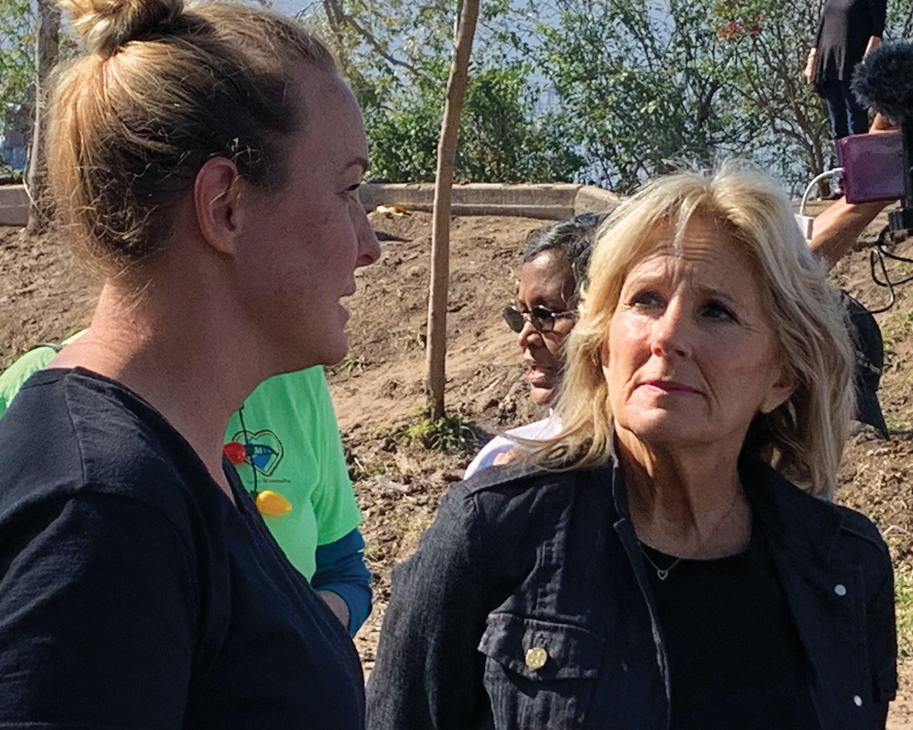 Jill Biden in Matamoros