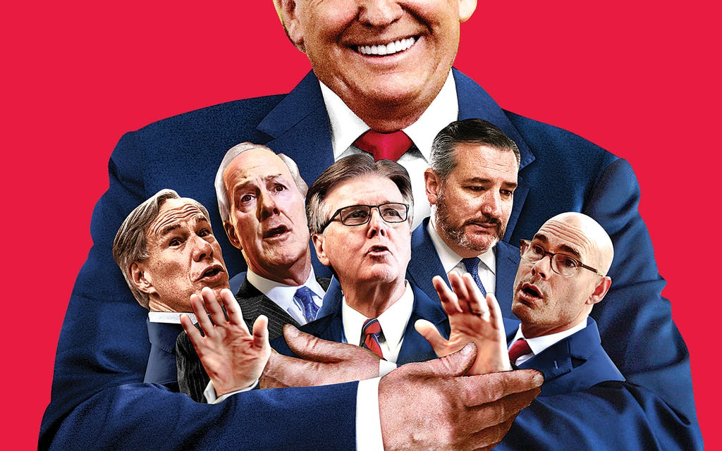 Red Scare: Can Donald Trump Rescue the Texas GOP? Or Is He Part of the Problem?
