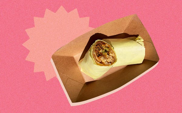 troublemaker burrito taco of the week