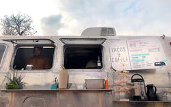 Franklin BBQ taco truck