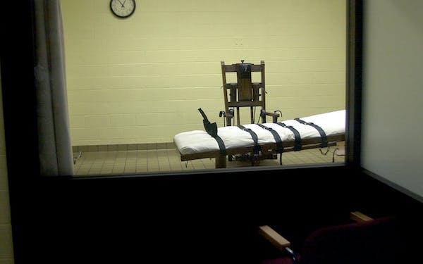 Death Chamber at Correctional Facility