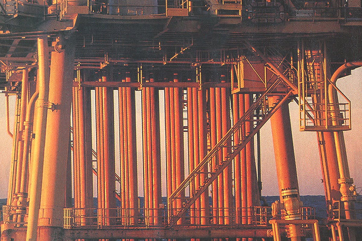 oil and water platforms